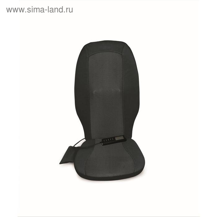Массажная накидка BM-HT020, роликовая, шиацу, чёрная