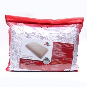 Подушка ортопедическая НТ-ПС-08 «Антихрап», с эффектом памяти, размер 63 x 43 x 13 Ош