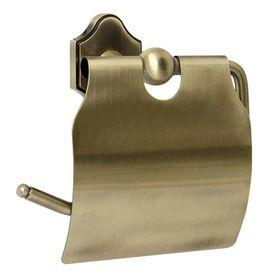 Держатель для туалетной бумаги закрытый Sacramento antique bronze