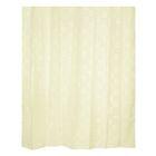 Штора для ванной комнаты Dagha beige, тканевая, 240 x 200 см