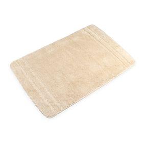 Коврик для ванной комнаты Solo beige, 60 х 90 см