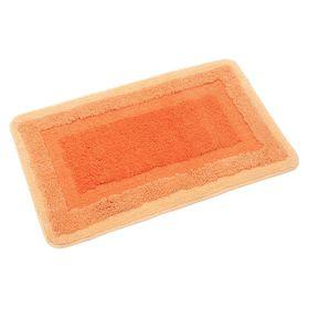 Коврик для ванной, комнаты 50х80 см Belorr orange