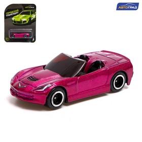 Машина металлическая Hot Cars, масштаб 1:64, МИКС