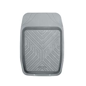 Коврик автомобильный универсальный AUTOPROFI MAT-150f GY для переднего ряда, ПВХ, универсальный, ванночка, 69х48 см, цвет серый Ош