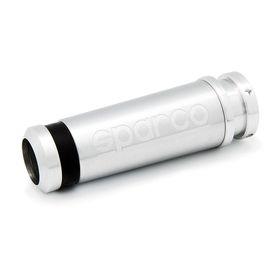 Рукоятка ручного тормоза SPARCO SPC/HB-001 MULTI, алюминий + резина, комплектуется 3 сменными кольцами (чёрного, синего, красного цвета)
