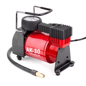 Компрессор автомобильный AUTOPROFI AK-30, металлический, 12V, 120W, производительность 30 л/мин, сумка