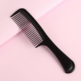 Расчёска, цвет чёрный Ош