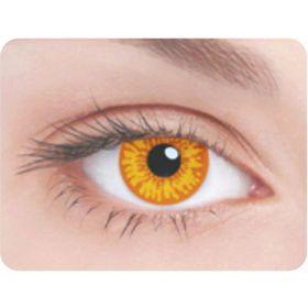 Карнавальные контактные линзы Adria Crazy - Орлиный глаз, в наборе 1шт Ош