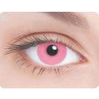 Карнавальные контактные линзы Adria Crazy - Розовая радужка, в наборе 1шт