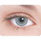 Карнавальные контактные линзы Adria Crazy - Шизофрения, в наборе 1шт