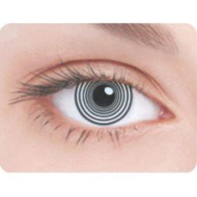 Карнавальные контактные линзы Adria Crazy - Шизофрения, в наборе 1шт Ош
