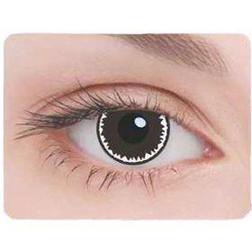 Карнавальные контактные линзы Adria Crazy - Маньяк, в наборе 1шт