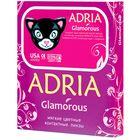Цветные контактные линзы Adria Glamorous - Blue, -6.0/8,6, в наборе 2шт
