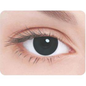 Карнавальные контактные линзы Adria Crazy - Черная радужка, в наборе 1шт Ош