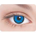 Карнавальные контактные линзы Adria Crazy - Синий пигмент, в наборе 1шт