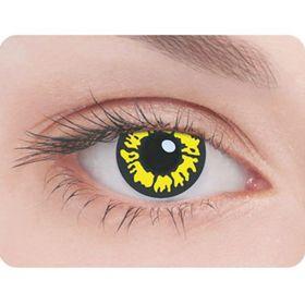 Карнавальные контактные линзы Adria Crazy - Волчий глаз, в наборе 1шт Ош