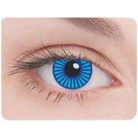 Карнавальные контактные линзы Adria Crazy - Робот, в наборе 1шт