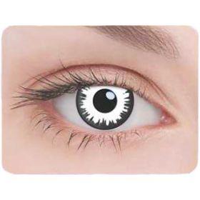 Карнавальные контактные линзы Adria Crazy - Лунатик, в наборе 1шт Ош
