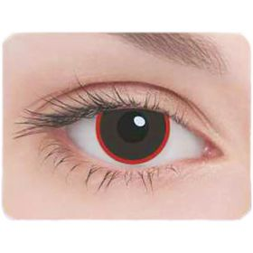 Карнавальные контактные линзы Adria Crazy - Демон, в наборе 1шт Ош