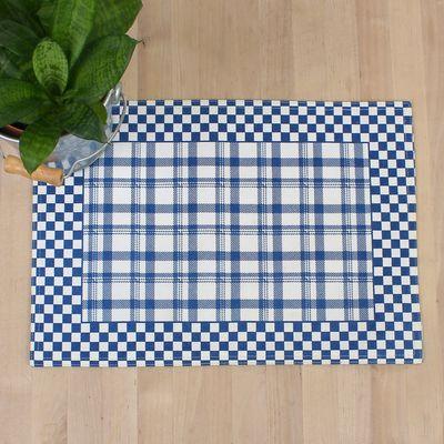 """Салфетка на стол """"Клетка"""" 30х40 см, текстиль"""