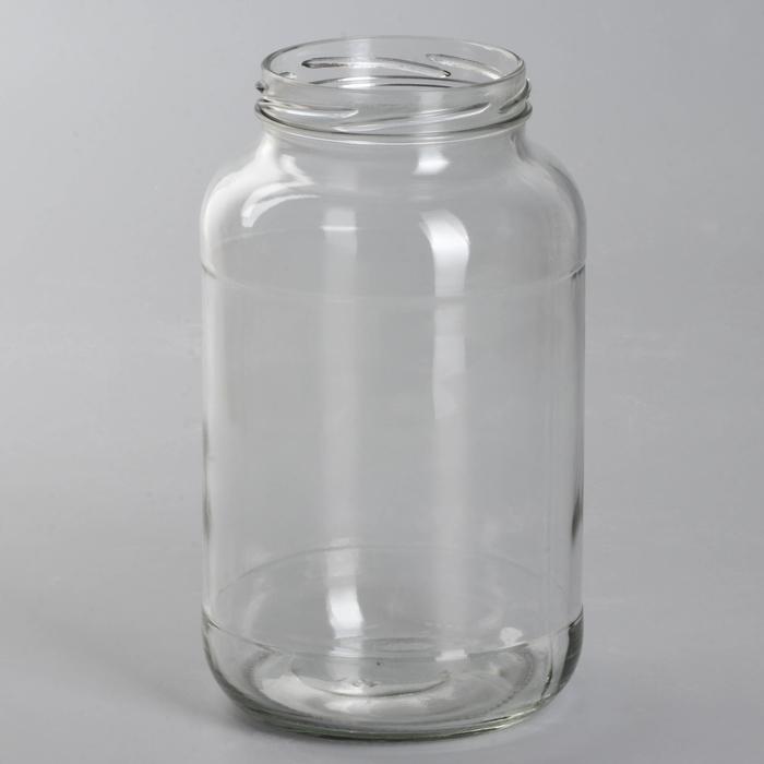 Банка стеклянная, 1,5 л, ТО-82 мм