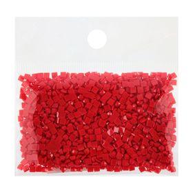Стразы для алмазной вышивки, 10 гр, не клеевые, квадратные 2,5*2,5мм 817 Coral VY DK Ош