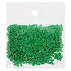 Стразы для алмазной вышивки, 10 гр, не клеевые, квадратные 2,5*2,5мм 911 Emerald Green Med