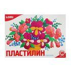 Пластилин 18 цветов 360 г, Lori «Классика»