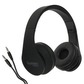 Наушники беспроводные Human Friends Eden, накладные, Bluetooth 3.0, чёрные