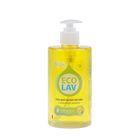Гель для мытья посуды EcoLav с ароматом лимона с дозатором, 460мл