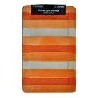 Коврик для ванной, Colorline, цвет оранжевый 80х50 см