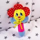 Погремушка на палочке «Цветочек», цвет МИКС - Фото 2