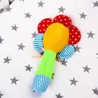 Погремушка на палочке «Цветочек», цвет МИКС - Фото 3