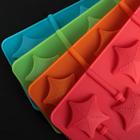 Форма для леденцов Доляна «Звездочёт», 9,5×24×1 см, 6 ячеек, цвет МИКС - Фото 3