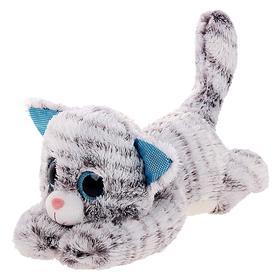 Мягкая игрушка «Кот глазастик», 13 см