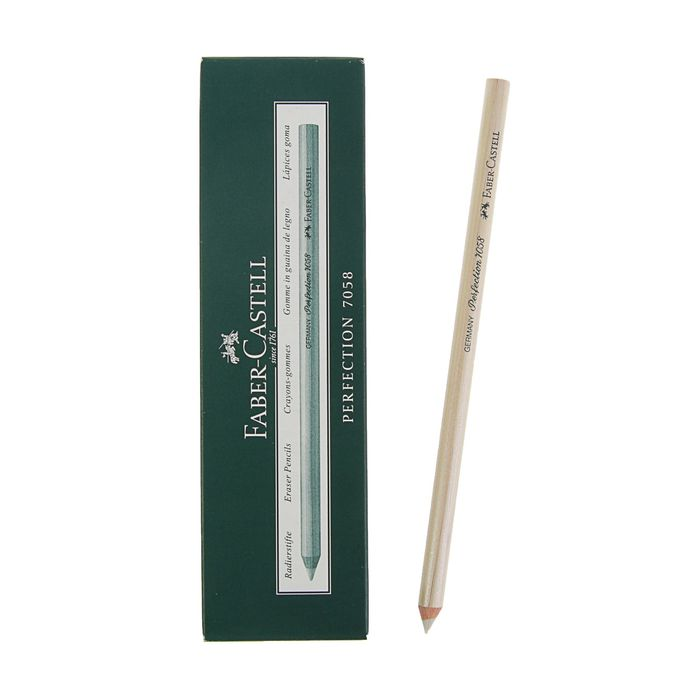 Карандаш-корректор Faber-Castell Perfection 7058 для туши и чернил