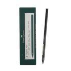 Карандаш художественный чёрнографитный Faber-Castell PITT® Monochrome 2900 9B цельнографитовый