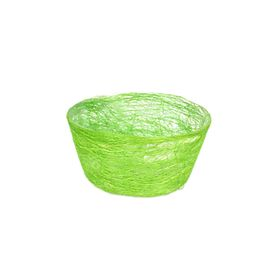 Кашпо, сизаль, круг, диффенбахия светло-зелёная 8 х 17 см Ош