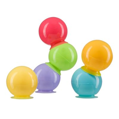 Набор ПВХ-игрушек Happy Baby IQ-Bubbles, 6 шт. - Фото 1
