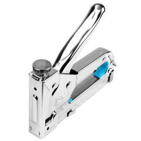 "Степлер ""Центроинструмент"" 0437, тип 53, 4-14 мм, регулируемый, усиленный, металл"