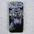 """Силиконовый чехол LuazON для iPhone 6/6s """"Белый тигр"""""""
