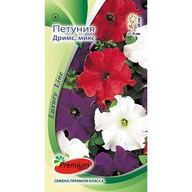 Семена цветов Петуния Крупноцветковая Дримс, смесь, 10шт