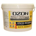 Краска фасадная OZON-Basic ВД-АК 111М акриловая 2,7 л (3,9 кг)