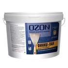 """Лак акриловый OZON """"Финиш-лак"""" 0,9 л (0,9 кг)"""