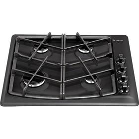 Варочная поверхность Gefest 1211 К21, газовая, 4 конфорки, цвет чёрная матовый