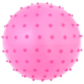 Мячик массажный, матовый пластизоль, d=16 см, 35 г, МИКС Ош