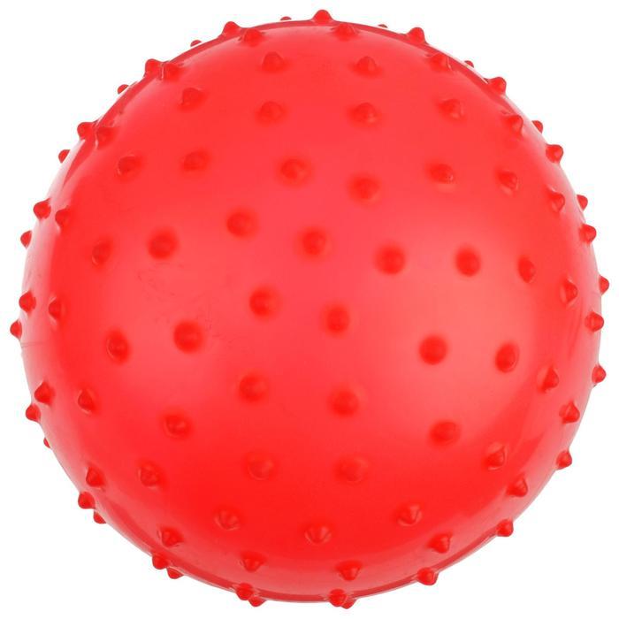 Мячик массажный, матовый пластизоль, d20 см, 50 г, МИКС