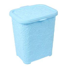 Контейнер для стирального порошка DDSTYLE «Ажур», 6 л, цвет МИКС Ош