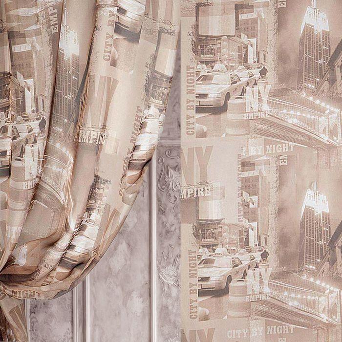Вуаль в рулоне, ширина 280 см, исполнение печать