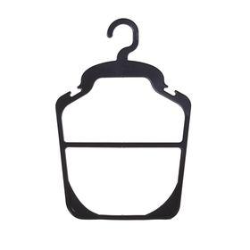 Вешалка контурная 23.5*35, (фасовка 10 шт), цвет чёрный Ош